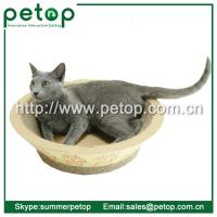 Buy cheap Recycled paper Corrugated cat scratcher lounge from wholesalers