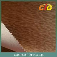 Buy cheap Printing Press Based PU Emboss Leather for Book / Notebook Binding and Folders product