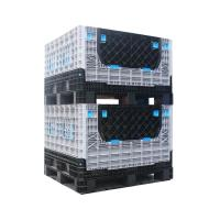 Buy cheap Medium Plastic Stackable Containers Moving Storage For Fruit And Vegetable from wholesalers