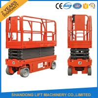 Buy cheap Small Mobile Electric Hydraulic Lift Table for Rental / Material Handling / Aerial Work from wholesalers
