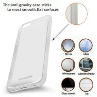 Buy cheap Anti-Gravity Phone Case for iPhone 7, 7Plus, Magical Nano Sticky Can Stick to Glass, Tile, Smooth Surface, Hands Free from wholesalers