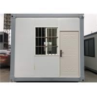 Buy cheap Modular Prefabricated Container House / 50mm EPS Sandwich Panel Homes from wholesalers