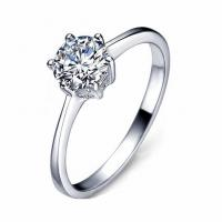 Buy cheap hot sale sterling silver jewelry silver ring diamond for gift or welding from wholesalers