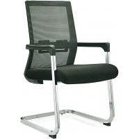 Buy cheap Stationary Black Mesh Office Chair No Wheels For Conference Room Customized from wholesalers