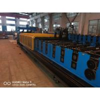 Quality PLC System Steel Silo Corrugated Side Panel Roll Forming Machine for sale