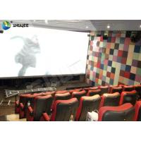 Buy cheap Large Capacity 4DM Motion Chair 4D Movie Theatre With Special Effect Control System product