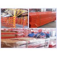 Buy cheap Heavy Duty Push Back Pallet Racking With Customized Color / Capacity ISO14001 from wholesalers