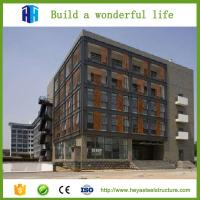 Buy cheap Prefabricated high rise steel building frame construction design from wholesalers