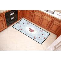 Buy cheap Floral Printing Outdoor Door Mats Durable With 100% Polyester Fleece Fabric from wholesalers