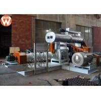 Buy cheap 4T/H Wet Type Fish Feed Extruder Machine With Modulator Power 5.5KW Screw 200mm from wholesalers