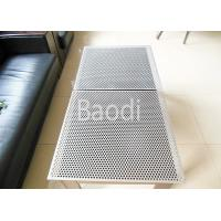 Buy cheap Stainless Perforated Steel Sheet SS304 / SS316 Round Hole For Construction from wholesalers