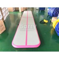 Buy cheap Inflatable Tumble Track Air Tumbling Mat Home Airtrack Floor Mats Gym Mat For Gymnastics from wholesalers