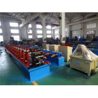 Buy cheap 5mm Thick C Purlin Roll Forming Machine With Gear Box Transmission And Universal Couplings from wholesalers