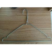 Buy cheap Customized Color Wire Clothes Hangers / Recyclable Wire Shirt Hangers from wholesalers