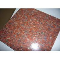 Buy cheap Hotel Lobby Imperial Red Granite Floor Tiles , 12 Inch Granite Tile Size Optional from wholesalers