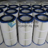 Buy cheap FORST Industrial Polyester Fiber Paper Air Filter Media Dust Filter Cartridge from wholesalers