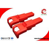Buy cheap Durable Polypropylene Safety Butterfly Valve Lockout for Valve Handle from 8mm to 45mm from wholesalers