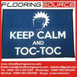 Buy cheap Printed nylon area rugs nylon fiber TPR anti slip backing custom size and shape Machine washable from wholesalers