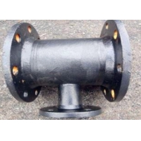 Buy cheap PN10 Ductile Iron Dacromet Saddle Tee Clamp Sch160 Thickness from wholesalers