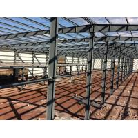 Buy cheap Customized Steel Structure Warehouse Steel Frame Buildings With Mezzanine from wholesalers