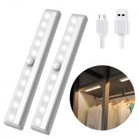 Buy cheap USB Rechargeable Magnetic Sticky Home Appliances 1.5W Lamp Closet PIR Motion Sensor LED Light from wholesalers