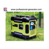 Buy cheap Gasoline 2kw Portable Digital Inverter Generator Silent Model with Low noise AC Single Phase from wholesalers