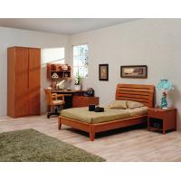 Buy cheap Classic Single bed design wooden bedroom furniture by Shenzhen factory for Residential and apartment project use product