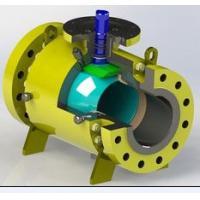 Buy cheap Stellite Coating Pipeline Ball Valve , Flange Weld Connection Split Body Ball Valve product