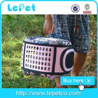 Buy cheap Comfort Travel airline approved pet carrier soft pet cage/crate cheap dog carriers/dog airline carrier from wholesalers