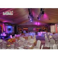 Buy cheap White Outdoor Event Tents for Wedding Receptions , Wedding Marquee product