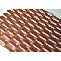 Buy cheap Paint Treatment 3D Expanded metal Mesh For Decorative Metallic Screen1220x2440mm from wholesalers