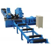Buy cheap Mechnical H Beam Straightening Machine , 40mm Thickness H Beam Assembly Machine from wholesalers
