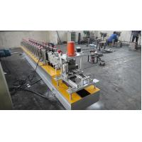 Buy cheap 1.0 Inch Chain Shutter Door Roll Forming Machine 380v 8 - 12 m / min High Speed from wholesalers