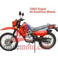 Buy cheap Gas-Powered 125CC Dirt Bike with Full Aluminum Wheel Frame WZDB1251 from wholesalers