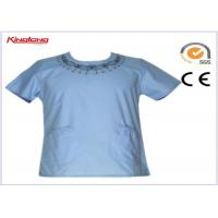 Buy cheap Protective factory nurse scrub suit , hospitality uniforms with multi pockets from wholesalers