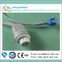 Buy cheap Datex ohmeda spo2 adapter cable,round 10pin to 8pin female product