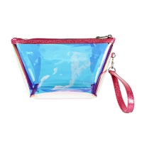 Buy cheap Clear Toiletry Hologram Clutch TPU Cosmetic Bag from wholesalers