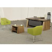 Buy cheap Medium Size Office Manager Desk Waterproof High Durability With Coffee Table product