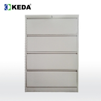 Buy cheap CE 450mm Depth Lateral File Cabinet With Name Holder from wholesalers