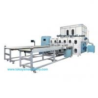 Buy cheap Fully automatic down feather quilt comforter filling machine with weighing system from wholesalers