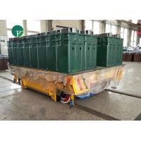 Buy cheap Die Plant Battery Powered Automatic Mold Transport Trolley On Rail from wholesalers