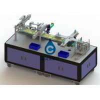 Buy cheap Low Noise Battery Pack Assembly Line Li Ion Battery Manufacturing Equipment from wholesalers