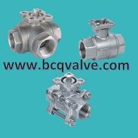 Buy cheap 1/2/3PCS stainless steel FEMALE THREADED MOUNTING PAD BALL VALVE from wholesalers