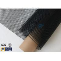Buy cheap Black PTFE Coated Fiberglass Mesh Fabric 580GSM 4M Wide Conveyor Belt Sealing from wholesalers
