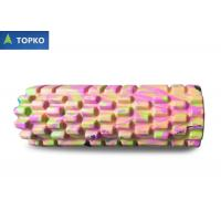 Buy cheap Military Camouflage EVA Foam Exercise Roll 14 * 33 cm / Massage Rollers For Back from wholesalers
