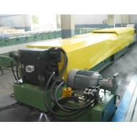 Buy cheap Rain Gutter Gutter Rolling Machine / Welded Pipe Roll Forming Machine from wholesalers