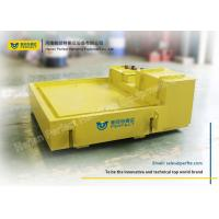 Buy cheap Steel Frame Rail Transfer Cart / Automatic Guide Vehicle With Weighing Scales from wholesalers