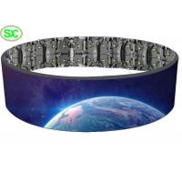 Buy cheap P10 P5 flexible led screen on rent led mesh flexible curtain screen outdoor from wholesalers