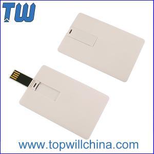 Plastic Credit Card 64GB Usb Flash Disk with Free Company Design Printing