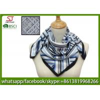 China 55*55cm 65%cotton 35%polyester imitated silk digital print squre scarf fashion hot sale best price on sale